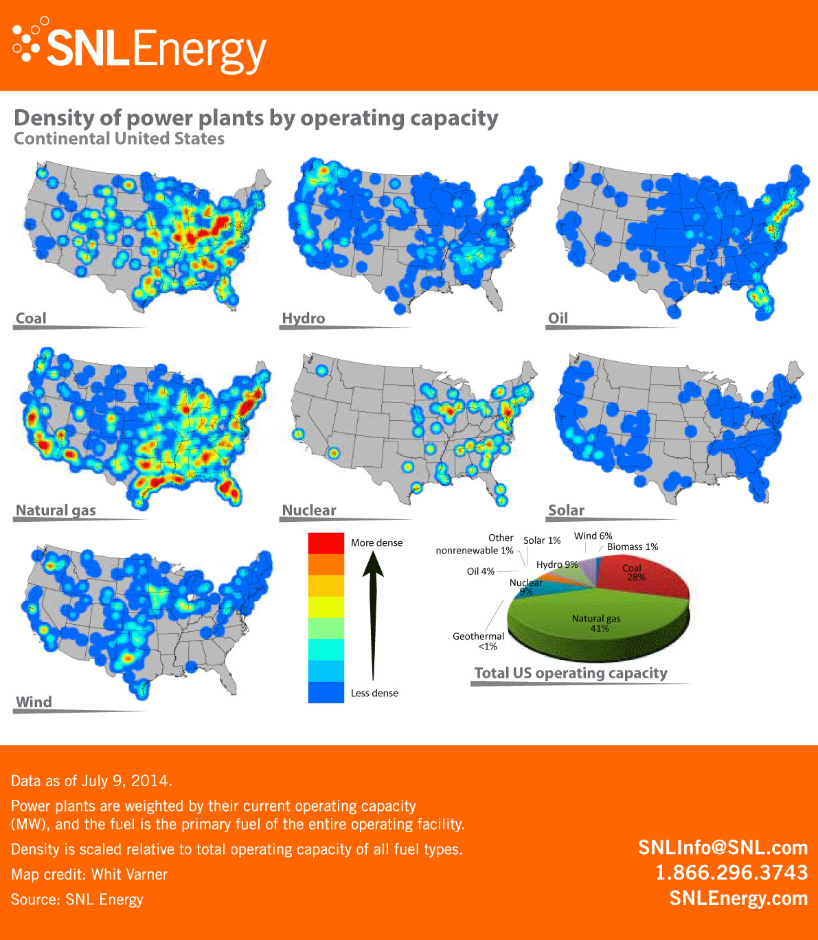 Power Generation Infographic U.s Power Generation Density