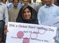 SNL Cares Walk in Pakistan