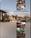 Whitestone REIT 2012 Annual Report