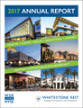 Whitestone REIT 2017 Annual Report