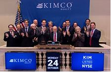 Kimco Rings the NYSE Closing Bell