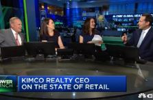 Kimco Realty CEO: Retail traffic being driven by innovation