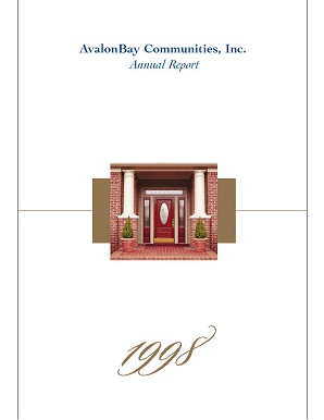 1998 Annual Report Cover