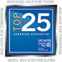 United Way Top 25 logo