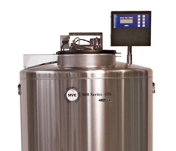 Stainless Steel Cryogenic Freezers