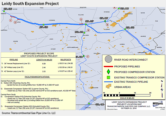 Pa Pipeline Map